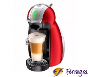 Moulinex Cafet Ndg Genio 2  Red Pv160558