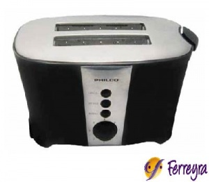 Philco Tostadora 2 Bocas 750 Wts To-ph20