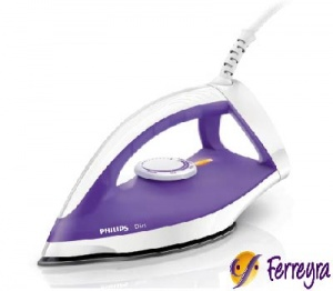 Philips Plancha Seca 1200w/gc122/purpura