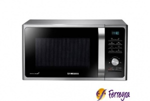 Samsung Micro.28l C/grill Gris