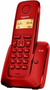 Siemens Gigaset T.inal A 120r Rojo